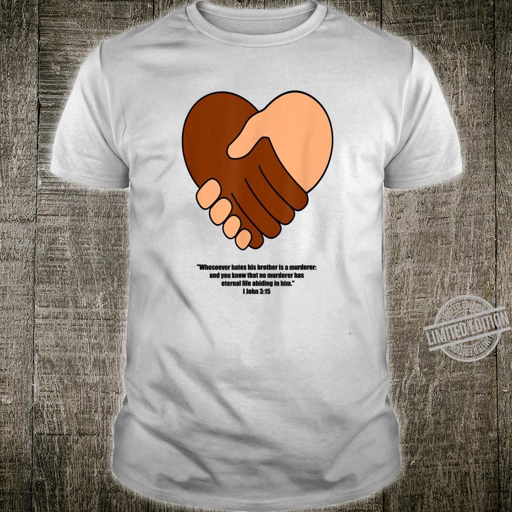 Christian Jesus Christ Love Your Neighbor As Yourself Bible Shirt
