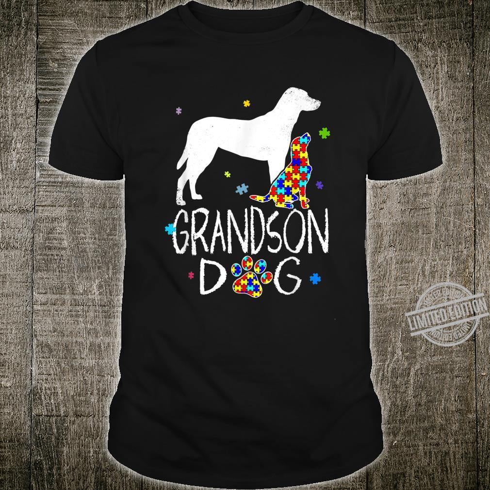 Grandson Dog Cool Autism AwarenessAutism Awareness Shirt