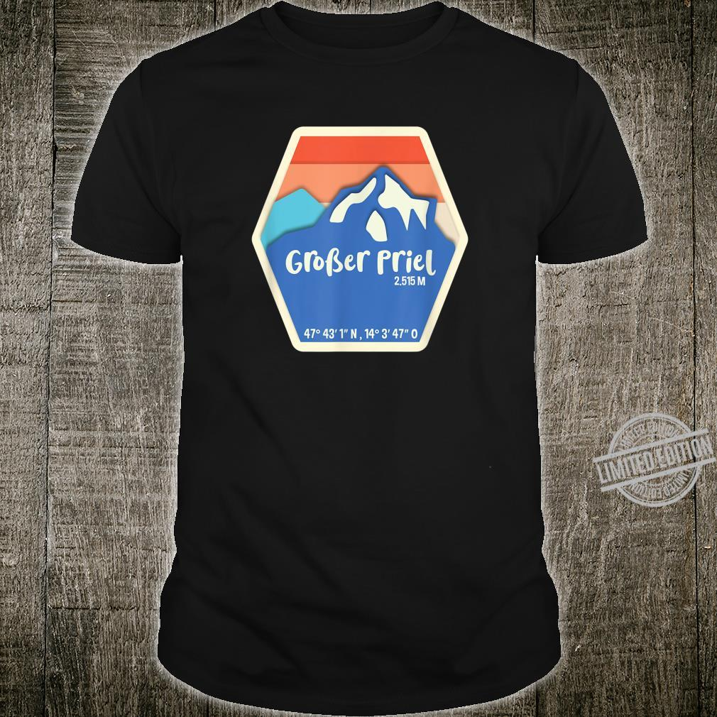 Großer Priel Höhe und Koordinaten Shirt