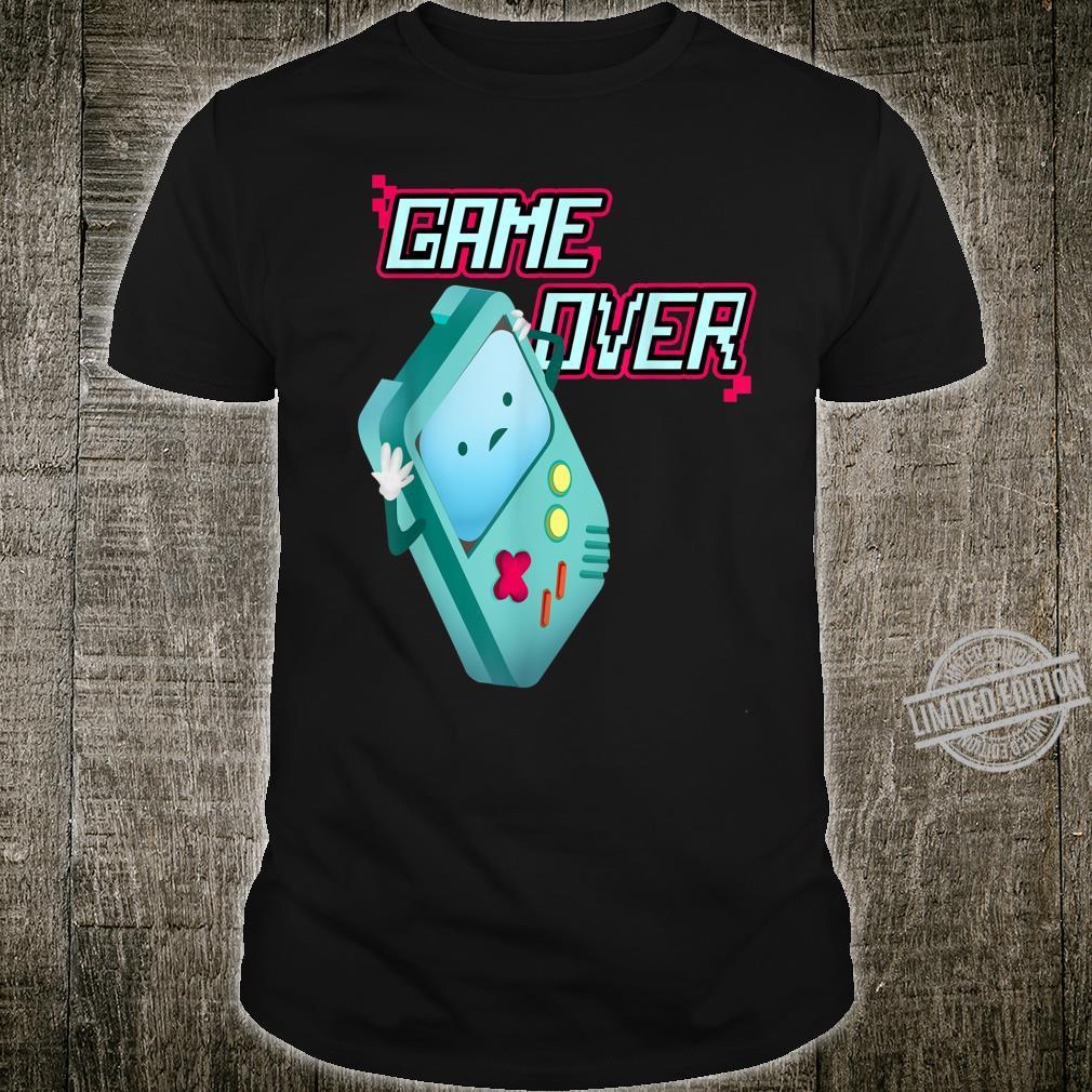Kawaii 8Bit Game Over Video Games Handheld Console Costume Shirt