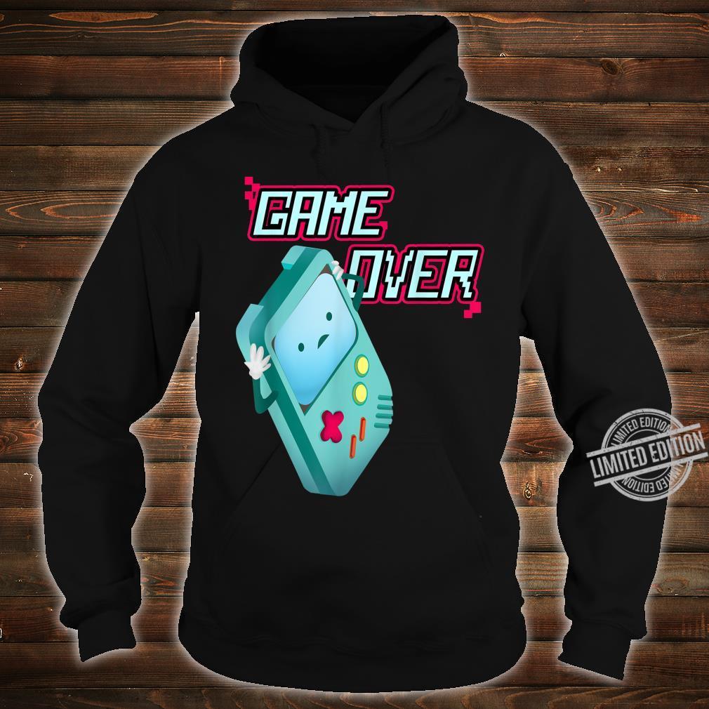Kawaii 8Bit Game Over Video Games Handheld Console Costume Shirt hoodie