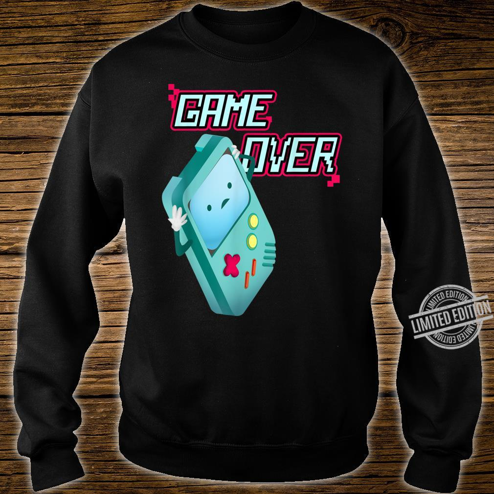 Kawaii 8Bit Game Over Video Games Handheld Console Costume Shirt sweater