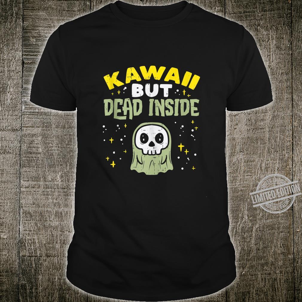 Kawaii But Dead Inside Ghost Goth Anime Japanese Manga Shirt