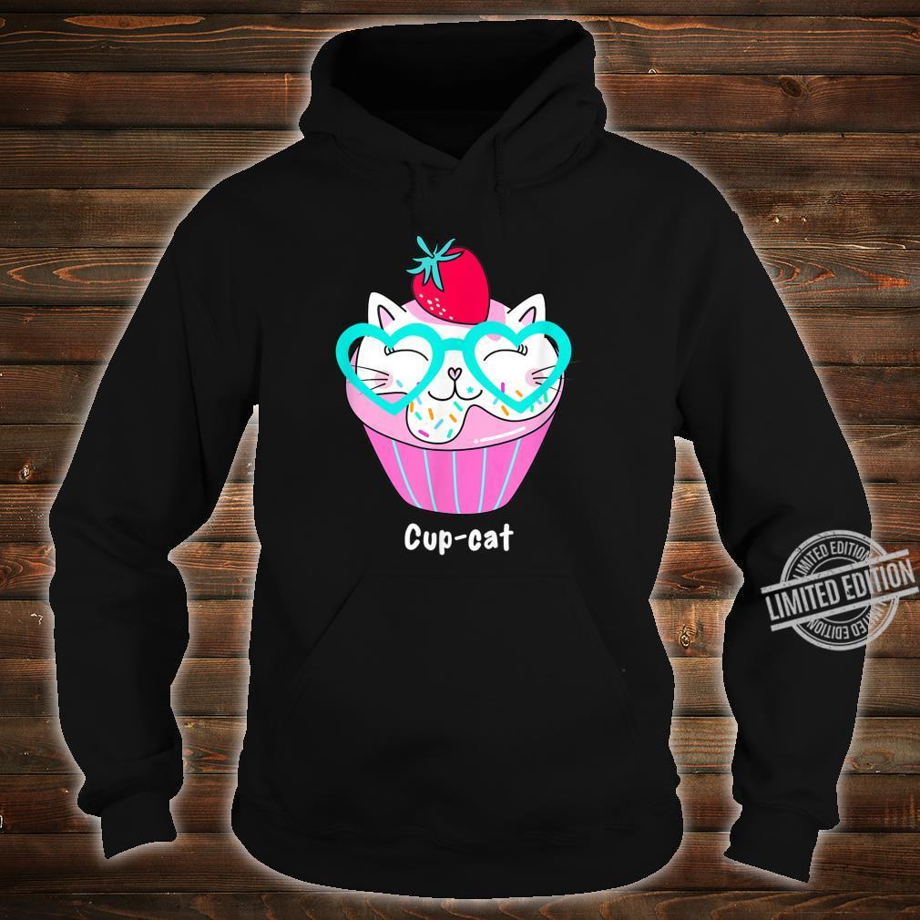 Kawaii CupCat Süße Anime Cupcake Kitty Cat Shirt hoodie
