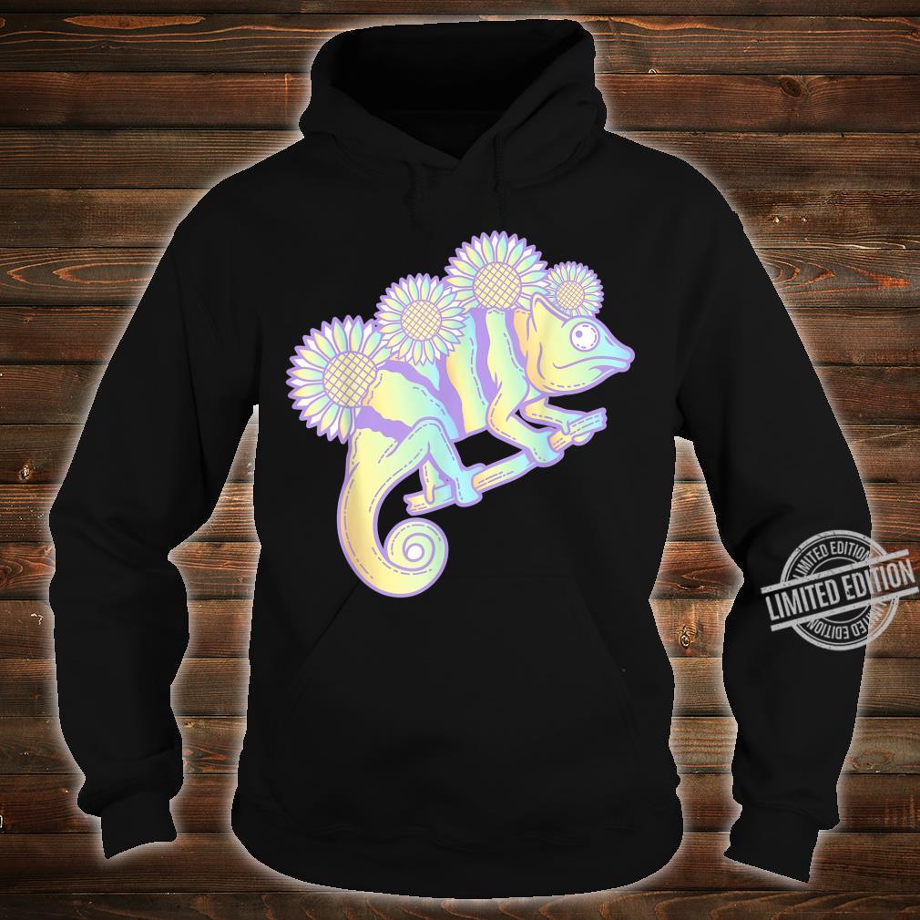 Kawaii Panther Chameleon Pastel Colour Camouflage Shirt hoodie