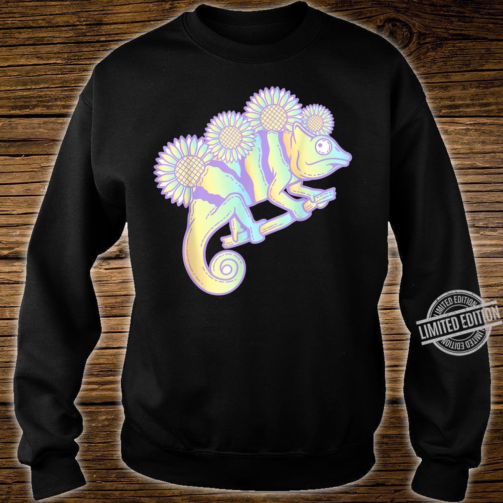 Kawaii Panther Chameleon Pastel Colour Camouflage Shirt sweater