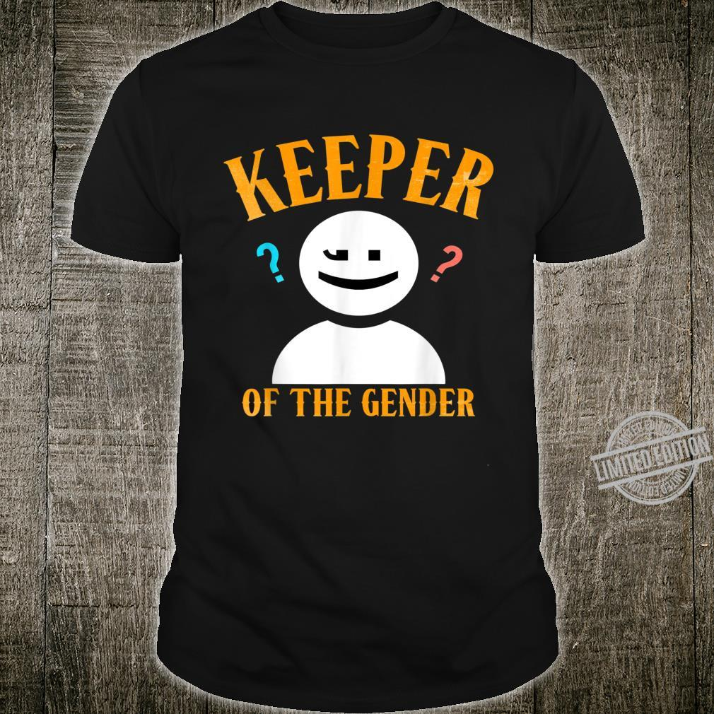 Keeper of the Gender Shirt Reveal Party for Dad & Mom Shirt