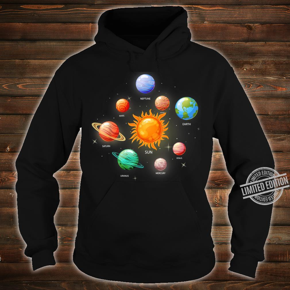 Kids Solar System Planets Sun Space & Science Shirt hoodie