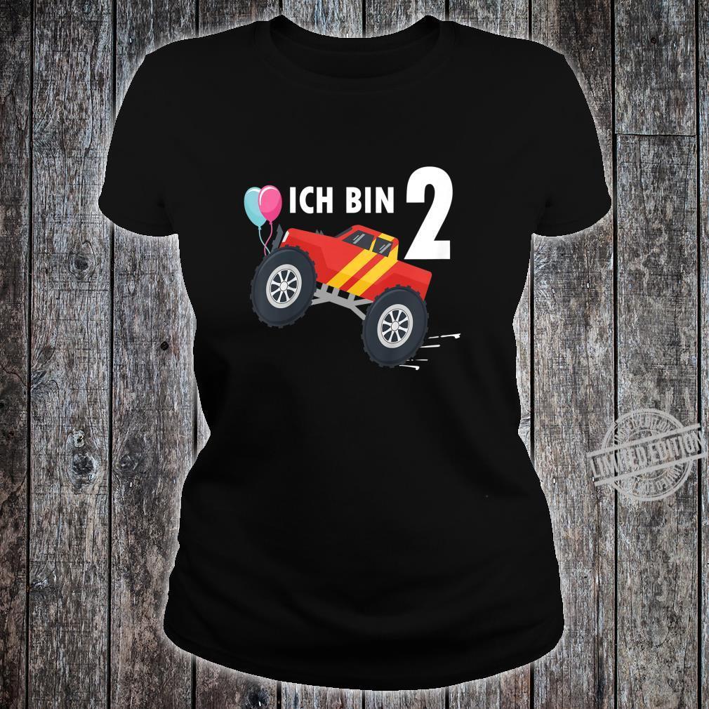 Kinder 2 jahre Junge Mädchen Geburtstag Shirt Monster Truck Shirt ladies tee