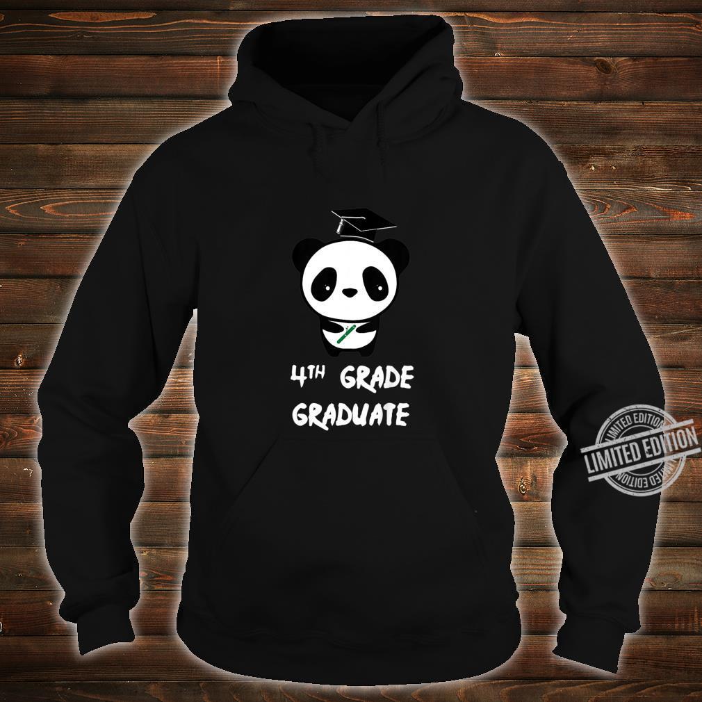 Kinder 2nd Grade Graduate ' Abschluss der zweiten Klasse Panda Shirt hoodie