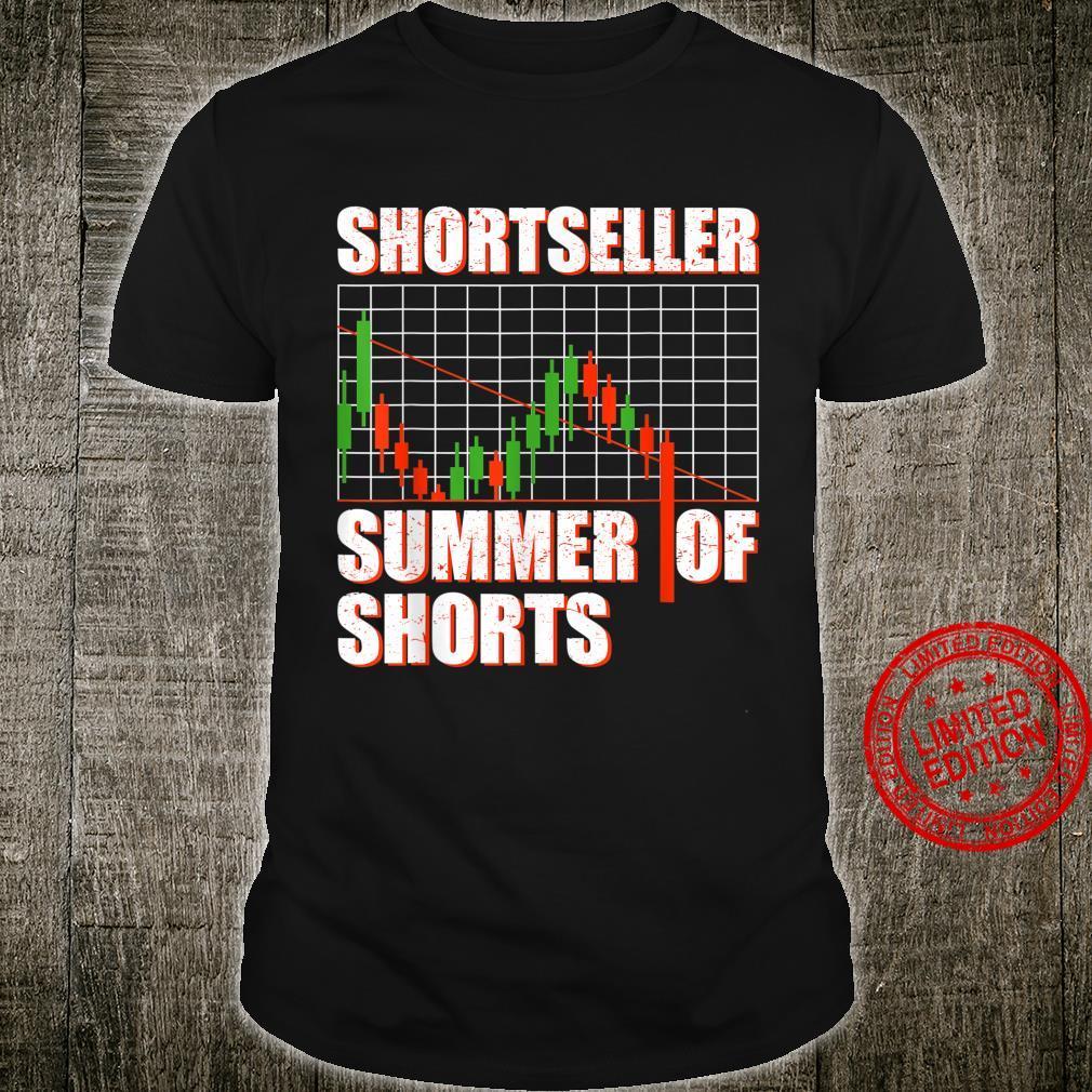 Shortseller Bear Aktienmarkt Short Trader Börse Shirt
